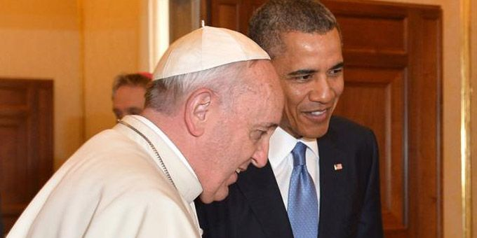Barack Obama incontra Papa Francesco